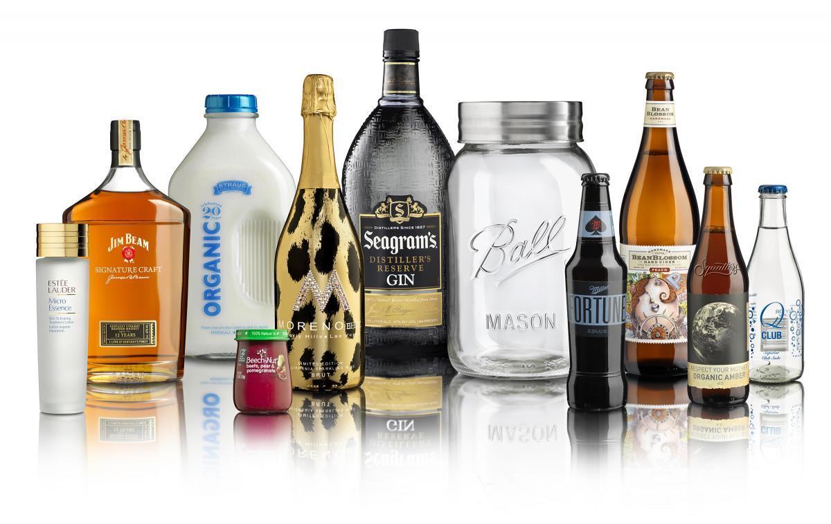 glass packaging designs